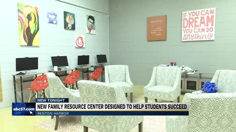 New Benton Harbor family resource center designed to help students succeed