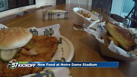 New food coming to Notre Dame Stadium this season