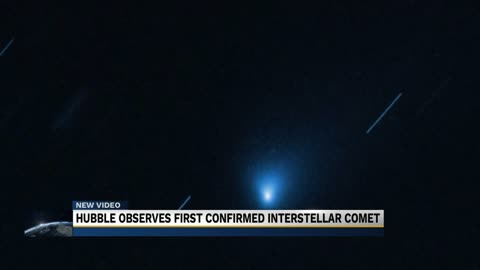 Hubble Telescope zooms in on interstellar visitor