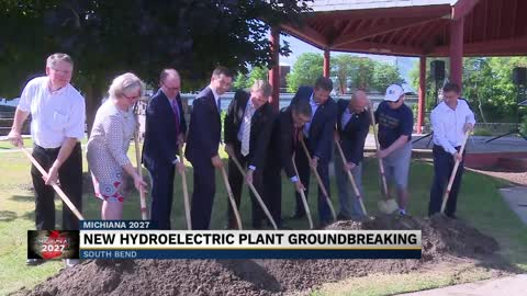 New hydroelectric plant groundbreaking
