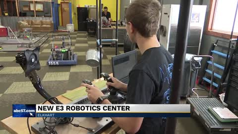New robotics center in Elkhart will encourage students in constructive ways