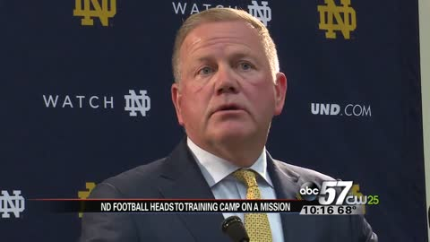 Fall practice starts Tuesday, Coach Brian Kelly says 2017 season is about mission