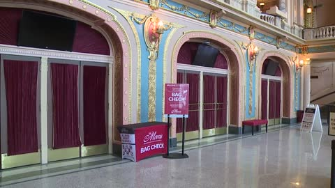 "Performing Arts Center implements ""bag check"" security policy"