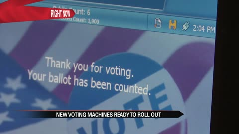 New voting machines in Elkhart County