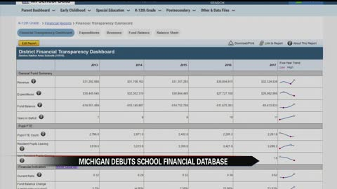 New website provides Michigan school financial data