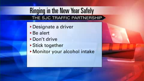 New Year's Eve safety tips from local police