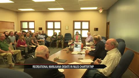 Dozens pushing for Niles Charter Township board to vote yes on recreational marijuana enterprises