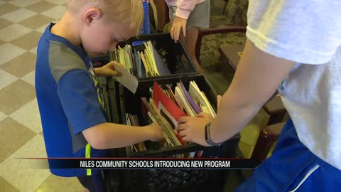 Niles Community Schools launches pop-up library program