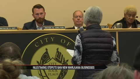 Niles City Council introduces ordinance that would ban future medical marijuana establishments