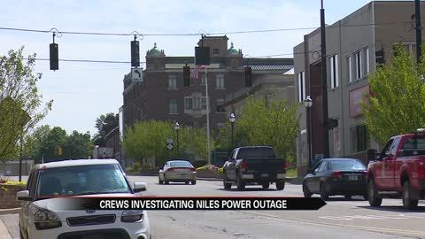 Niles businesses are put on halt after power outage