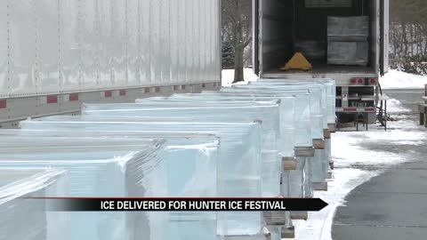 Niles prepares for Hunter Ice Festival
