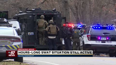Standoff in Niles involving child hostage ends peacefully