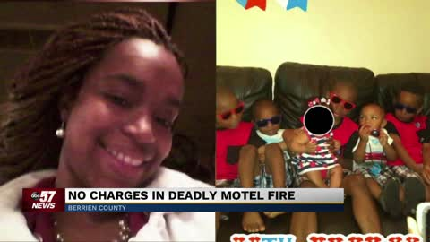 No criminal charges will be filed in fatal motel fire
