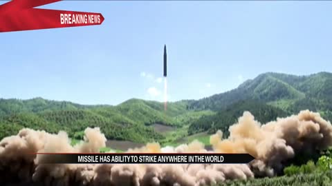 New missile test shows North Korea capable of hitting all of US mainland