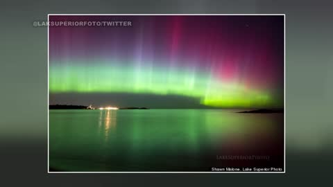 Northern Lights visible locally