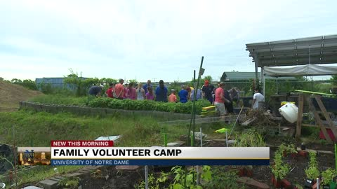Notre Dame's Alumni Association hosts 20th Annual Family Volunteer...