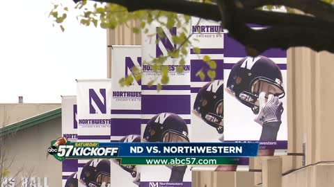 Notre Dame begins crucial November against Northwestern