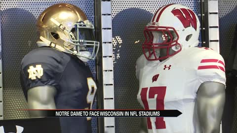 Notre Dame and Wisconsin to play at Lambeau and Soldier fields
