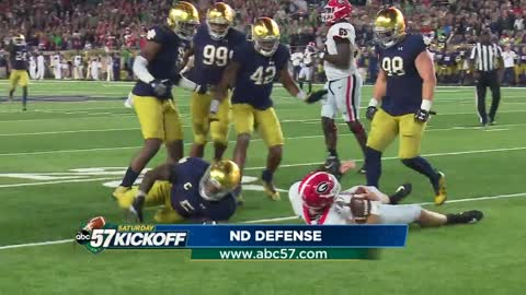 Notre Dame defense hopes to prove itself against USC