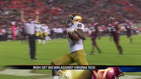 Notre Dame earns decisive road win over Virginia Tech