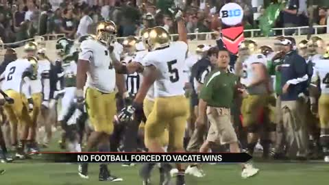 Notre Dame loses appeal, must vacate 2012 and 2013 football wins