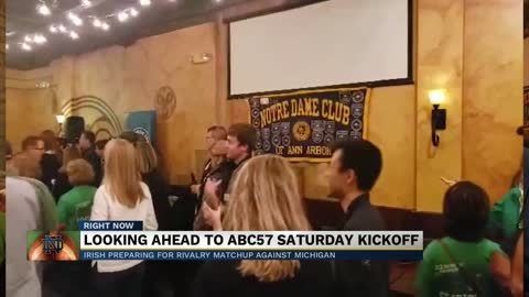Notre Dame Football gearing up for match against Michigan