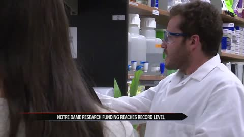 Notre Dame gets record research funding