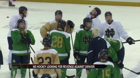 Notre Dame hockey confident ahead of rematch with Denver