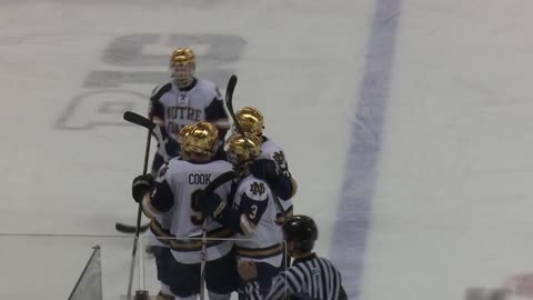 Notre Dame hockey beats Wisconsin for record 16th-straight win