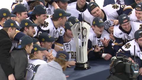 Notre Dame hockey tops Ohio State for Big Ten regular season title