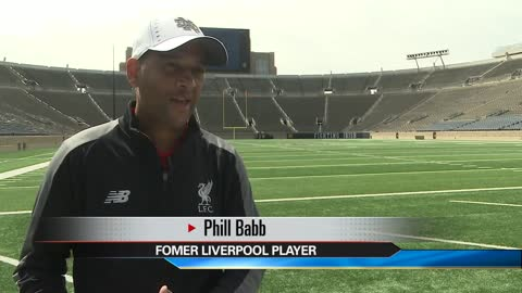 Notre Dame hosting first competitive soccer match 'Liverpool...