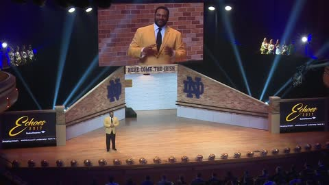 Notre Dame football looks back on 2017 at annual Echoes Award show