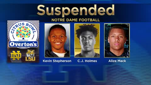 Notre Dame, LSU both have players out for Citrus Bowl game