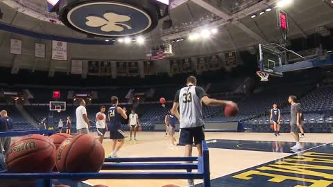 Notre Dame men's hoops taking trip to UCLA