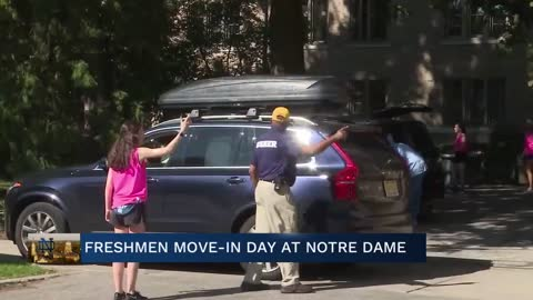 Notre Dame opens up dormitories on Friday for move-in weekend
