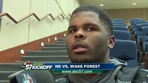 Notre Dame players hoping to avoid letdown against Wake Forest