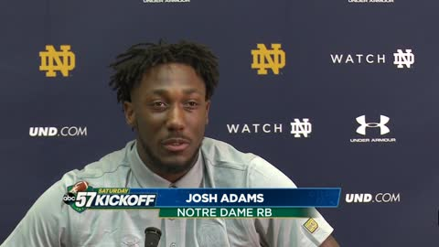 Notre Dame players share their keys to winning against UNC