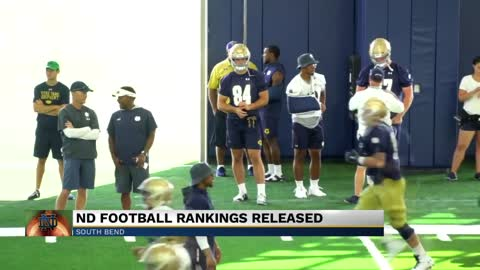 Notre Dame ranks on preseason AP Top 25 Poll