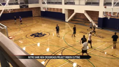 Notre Dame rolls out newest facilites in Campus Crossroads project