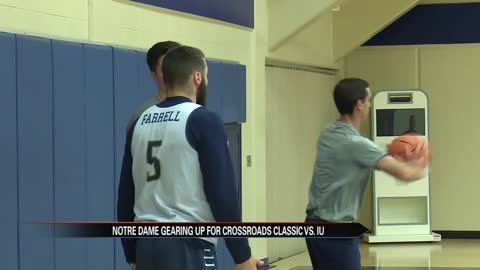Notre Dame men's hoops ready for in-state matchup against IU