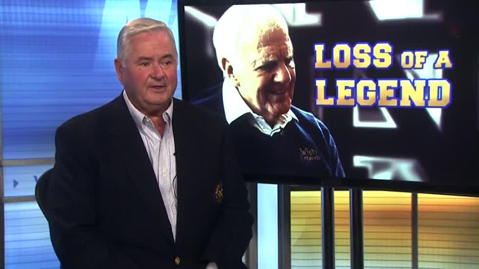 5546e4c643b ... Notre Dame Sports Broadcaster Bob Nagle remembers Ara Parseghian ...