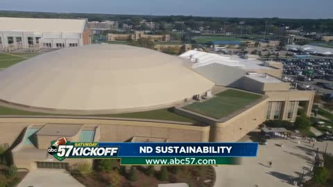 Notre Dame students a huge part of university sustainability efforts