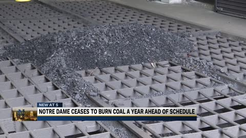 Notre Dame to stop burning coal entirely by end of 2019