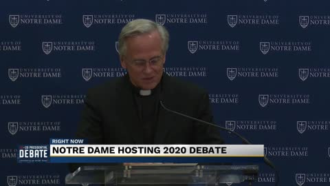 Notre Dame to host first 2020 presidential debate
