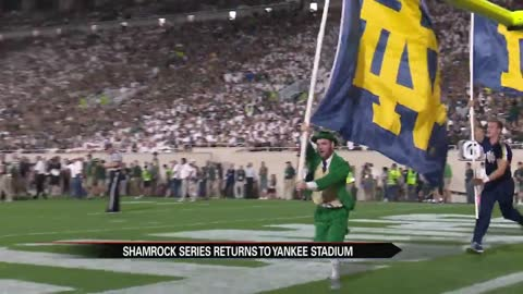 Notre Dame to play Syracuse in 2018 Shamrock Series