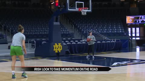 Irish look to take momentum on the road