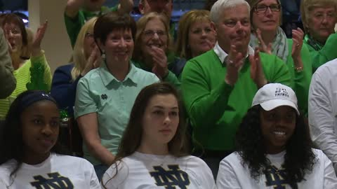 Notre Dame women grab a one-seed in NCAA tournament