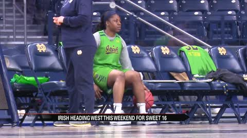 Notre Dame women head to Sweet Sixteen despite more injuries