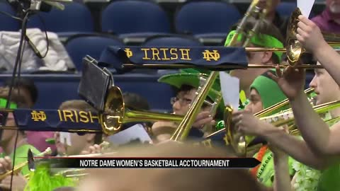 Notre Dame women's basketball team advances in ACC Tournament...