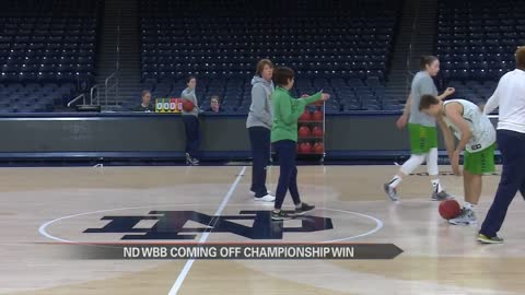 Notre Dame women's hoops embracing road challenges